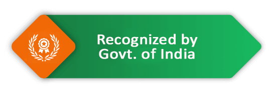 recognized by government by india